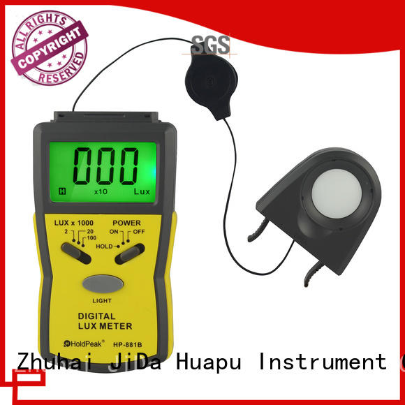 Top light meter device hp881c for business for physical