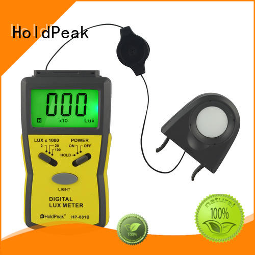 HoldPeak portable digital lux meter uses company for physical