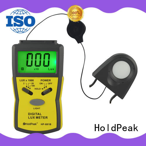 HoldPeak hp881d lux light meter free design for electrical