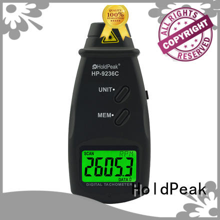 HoldPeak Latest digital tachometer company for airplanes