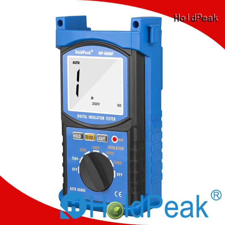 HoldPeak hot sale insulation resistance testers company for verification