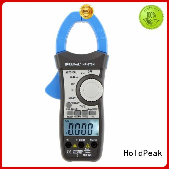 HoldPeak tester clamp on energy meter for business for communcations for manufacturing