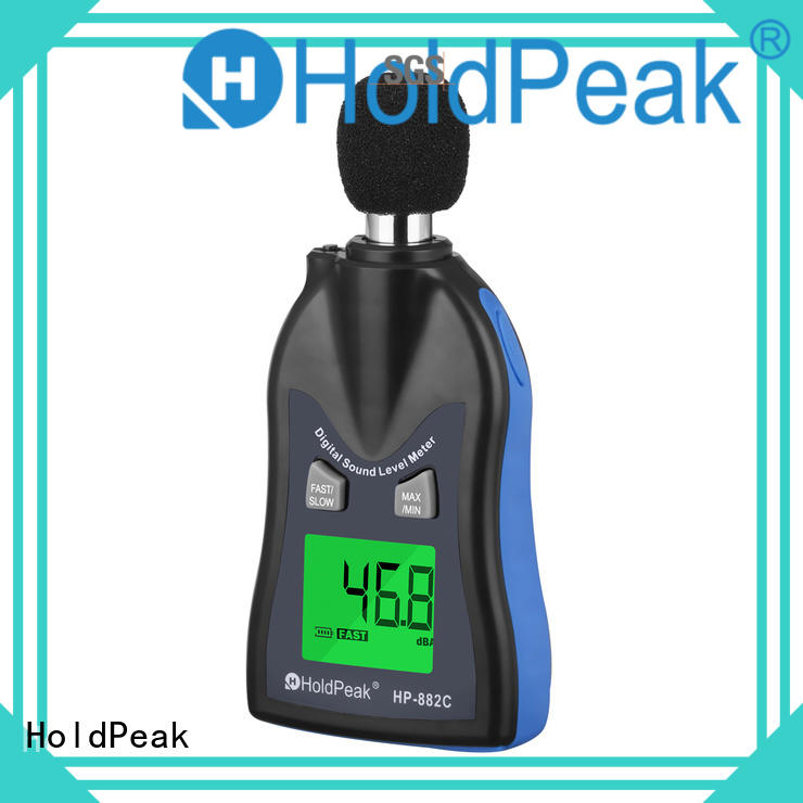 HoldPeak test remote sound meter for business for measuring steady state noise