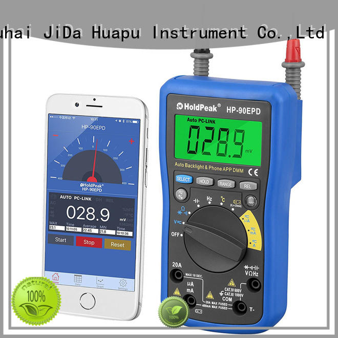 HoldPeak counts low price digital multimeter company for electrical