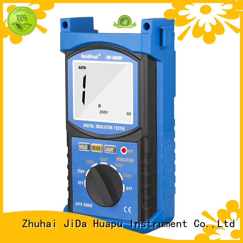 HoldPeak digital digital insulation tester company for maintenance