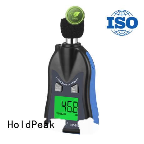 HoldPeak measurement portable noise meter Supply for measuring steady state noise