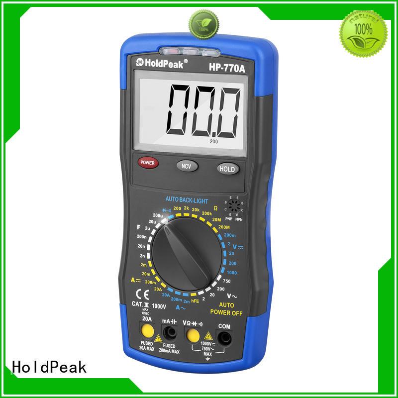 HoldPeak testdata digital dmm manufacturers for electronic