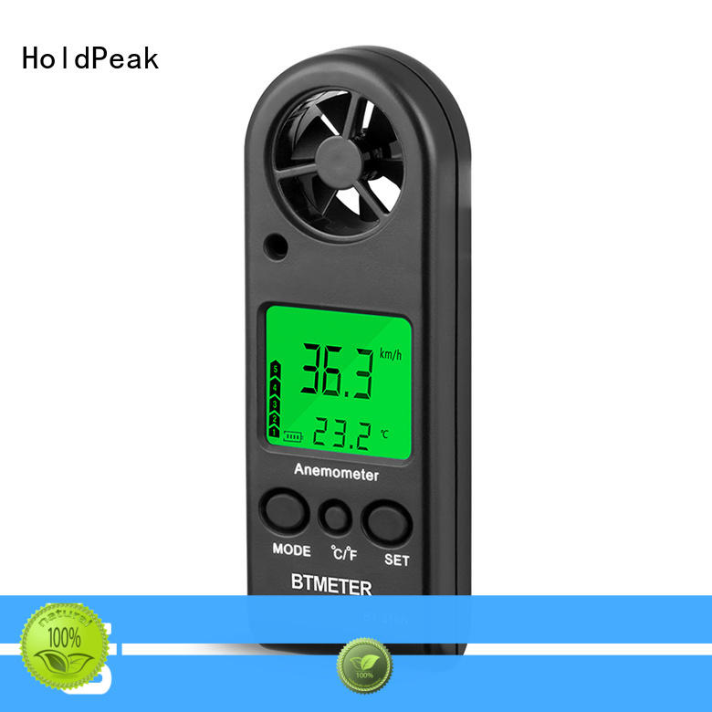 HoldPeak good-looking portable anemometer in china for manufacturing