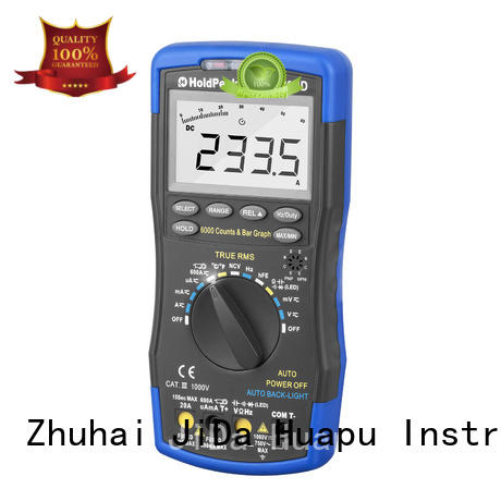 electronic multimeter light for measurements HoldPeak