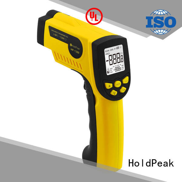 HoldPeak easy to use ir temp meter manufacturers for customs