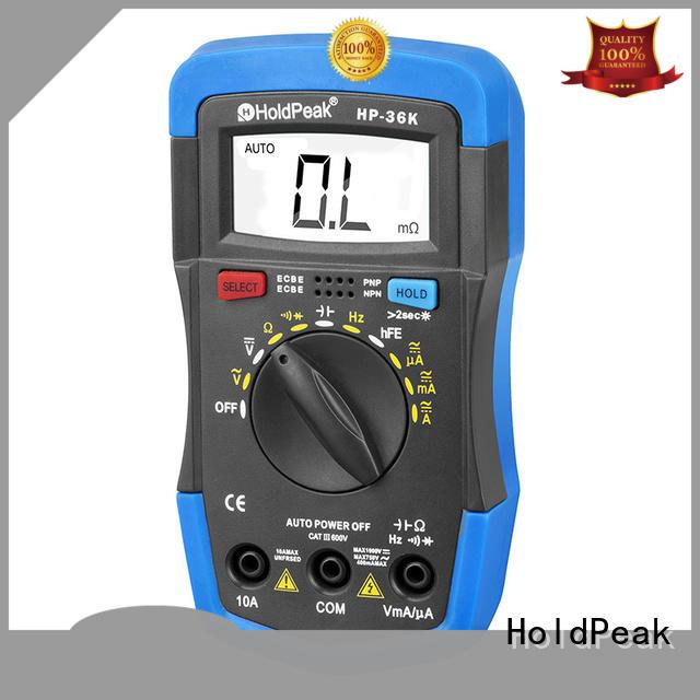 HoldPeak digital multimeter description Supply for measurements