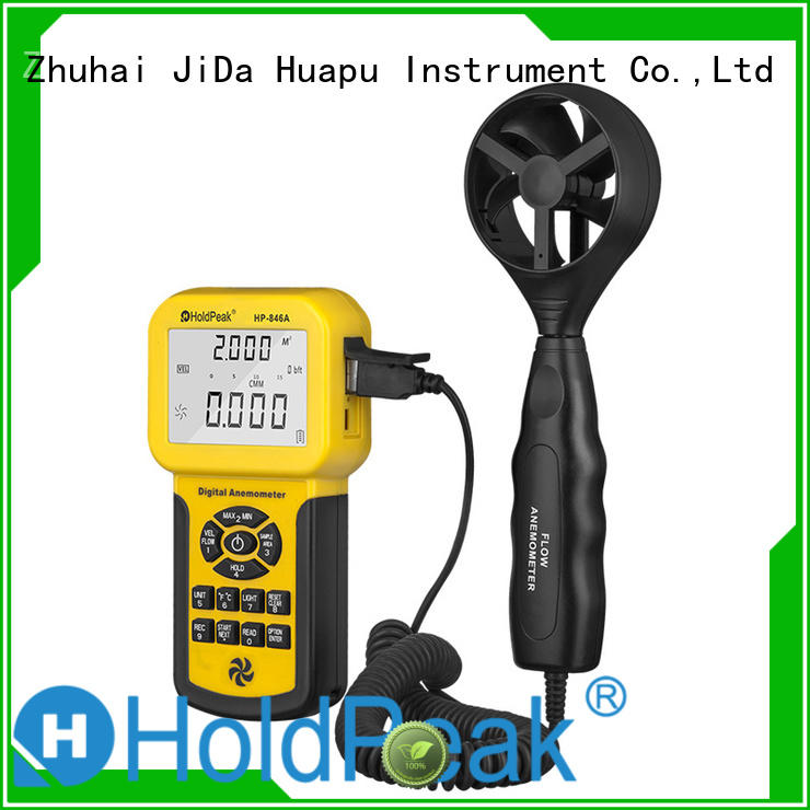 analog anemometer digital wind speed anemometer / air flow meter HP-846A