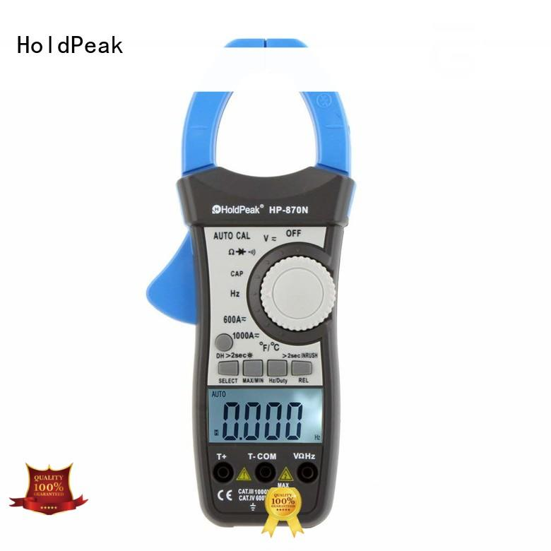 HoldPeak automatic digital clamp meter in china for petroleum refining industry