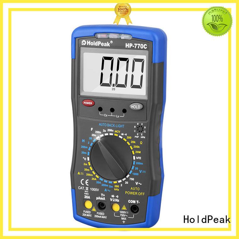 HoldPeak usb multimeter tester Supply for physical