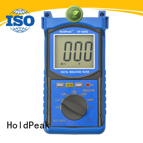 easy to carry insulation resistance testers digital factory for repair