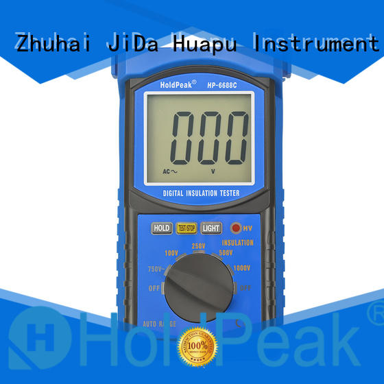 analog insulation tester hp6688f for verification HoldPeak