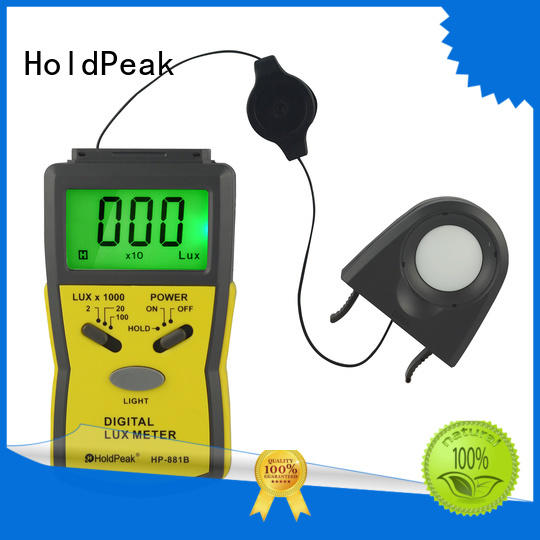 HoldPeak illuminometer colour meter photography company for electrical