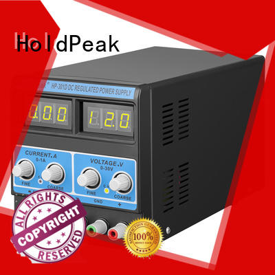 HoldPeak easy to carry adjustable power supply regulated for communcations for manufacturing