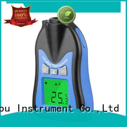 HoldPeak easy to use remote infrared thermometer factory for military