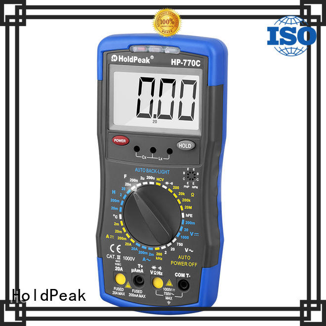 HoldPeak Wholesale electronic multimeter price for business for testing