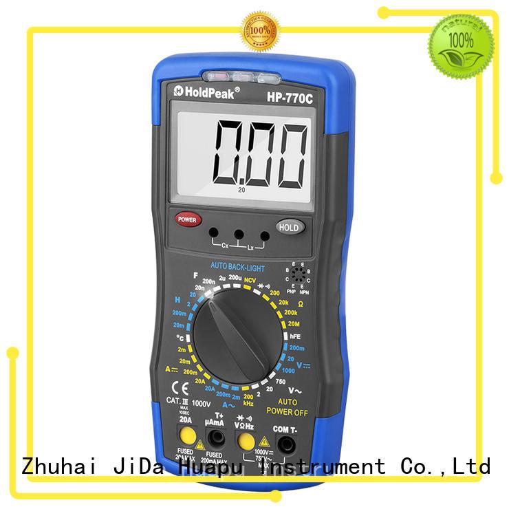 manual range select digital multimeter,6000 counts digit LCD monitor,HP-770C