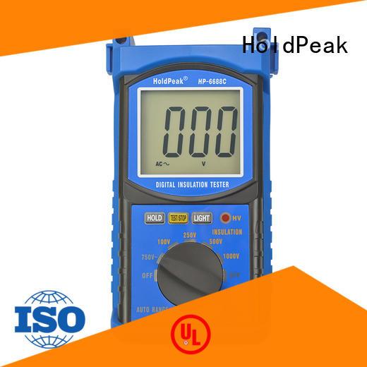 HoldPeak tester cheap insulation tester Supply for verification
