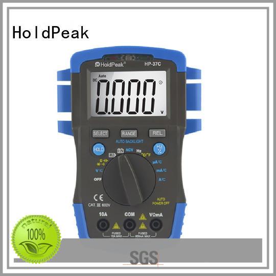 digital multimeter range