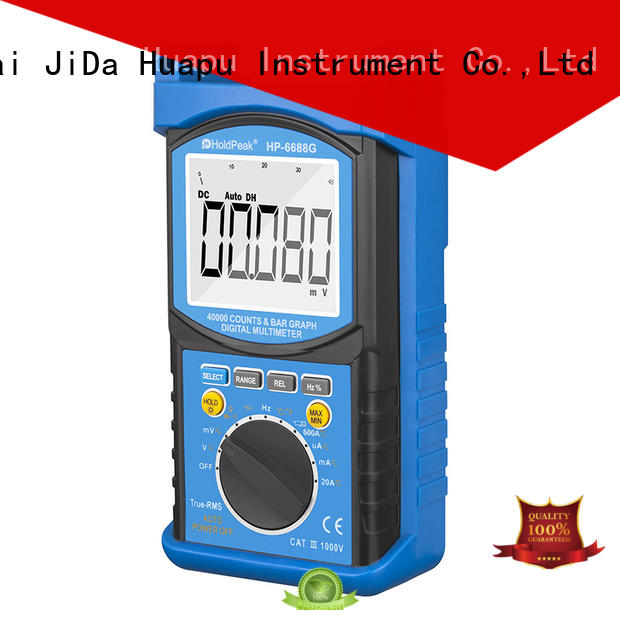 HoldPeak excellent electrical digital multimeter overseas market for electronic