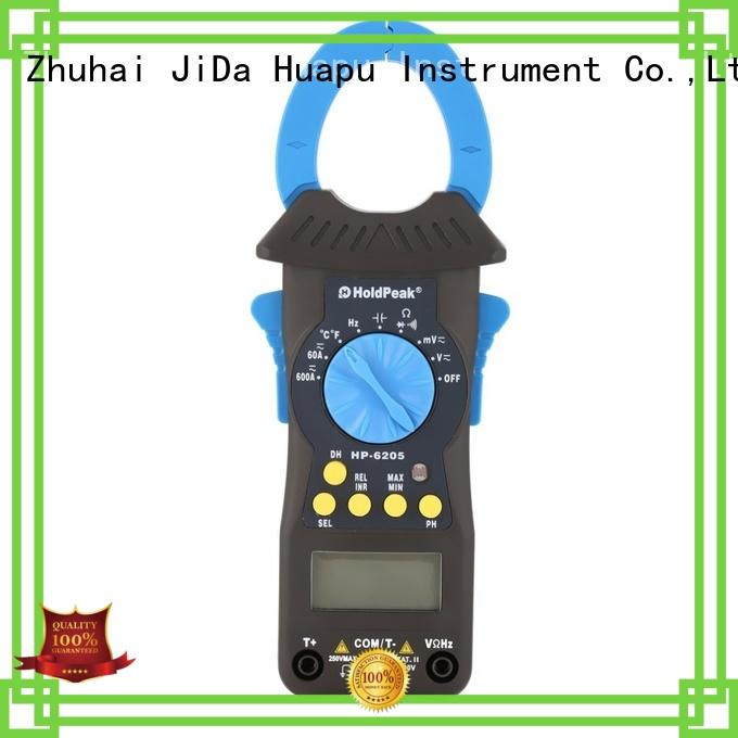 HoldPeak multimeter dc current clamp meter supplier for electricity chemical industries