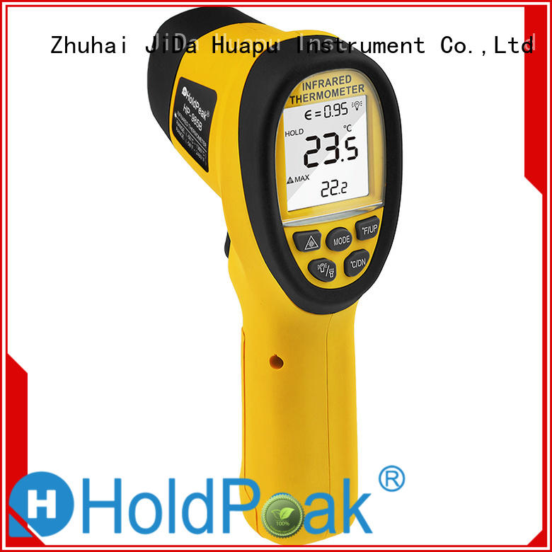 HoldPeak good-looking oem infrared thermometer Supply for industrial production