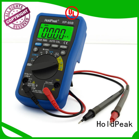 HoldPeak portable digital multimeter accuracy insulation for physical