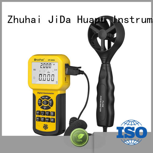 HoldPeak flow paper cup anemometer company for tower crane