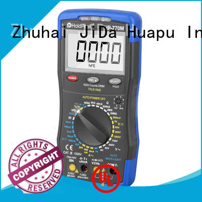 HoldPeak current rapitest multimeter instructions company for physical