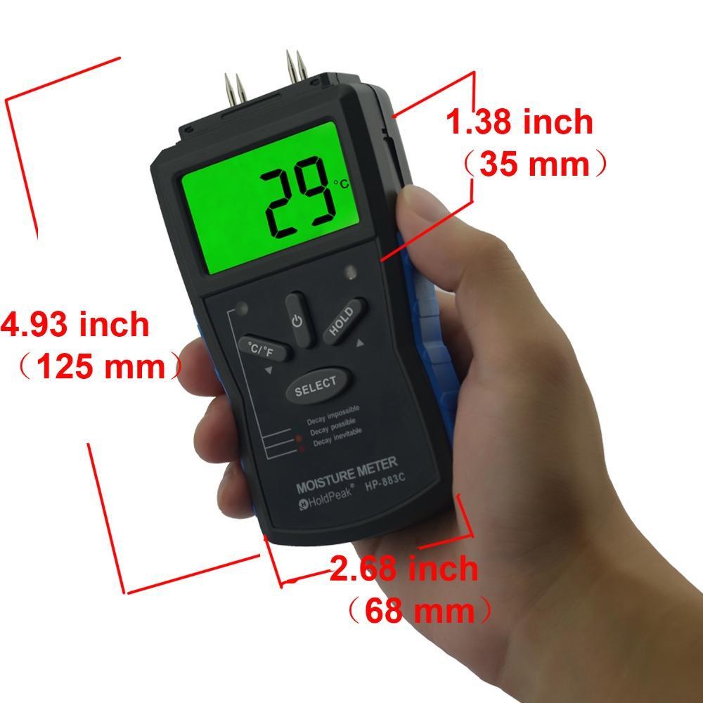 HoldPeak hp2gd buy soil moisture meter Supply for measurements-2
