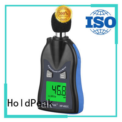 HoldPeak unique sound level meters measurement for measuring steady state noise