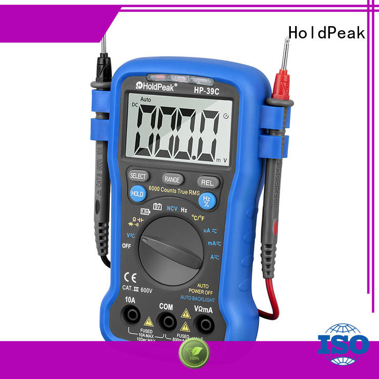 HoldPeak easy to use electronic multi tester company for testing
