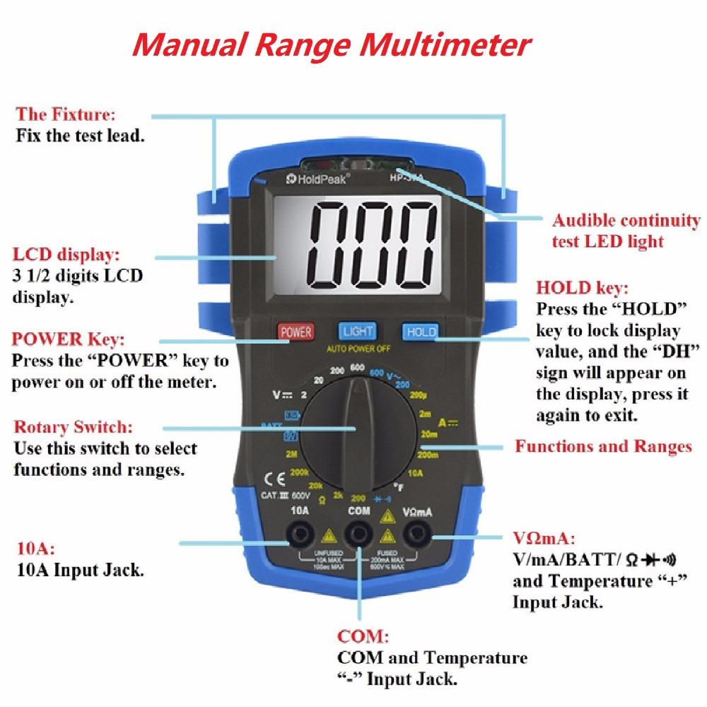 good looking how to use a multimeter to measure voltage and current insulation for business for physical-1