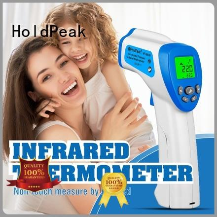 HoldPeak easy to carry ir meat thermometer company for industrial production