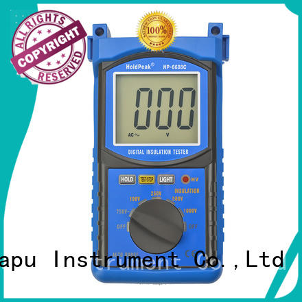 HoldPeak tester insulation resistance testers for business for verification