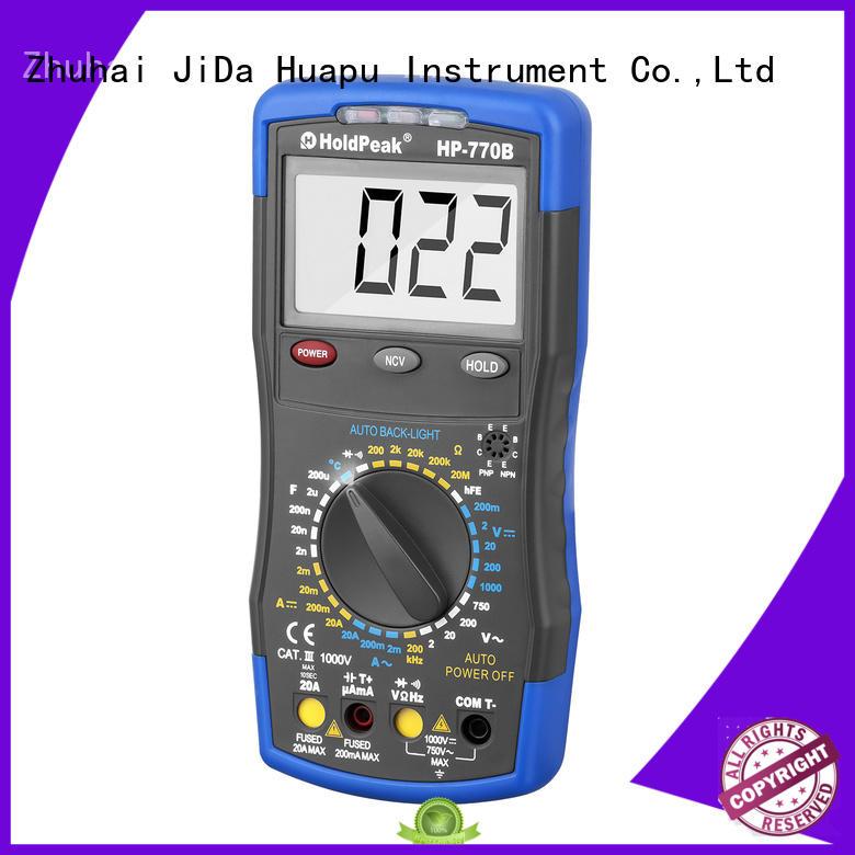 multimeter usb duty for physical HoldPeak