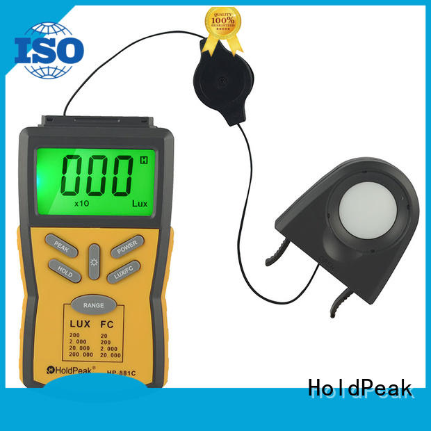 meter handheld light meter with many models for measurements HoldPeak