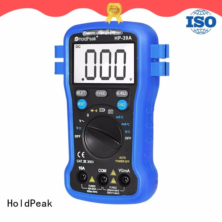 HoldPeak slimhd multimetr digital company for testing