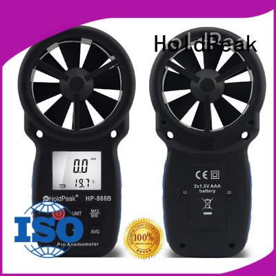 HoldPeak High-quality hand anemometer company for manufacturing
