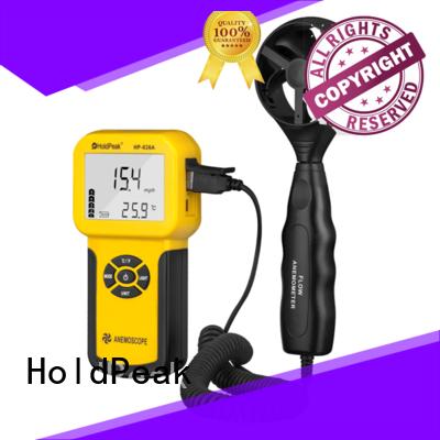 quality handheld anemometer for manufacturering for communcations HoldPeak