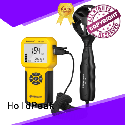 quality handheld anemometer for manufacturering for communcations HoldPeak