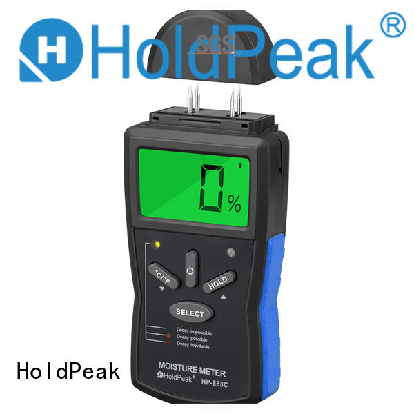 HoldPeak wheat moisture meter india Supply for electrical