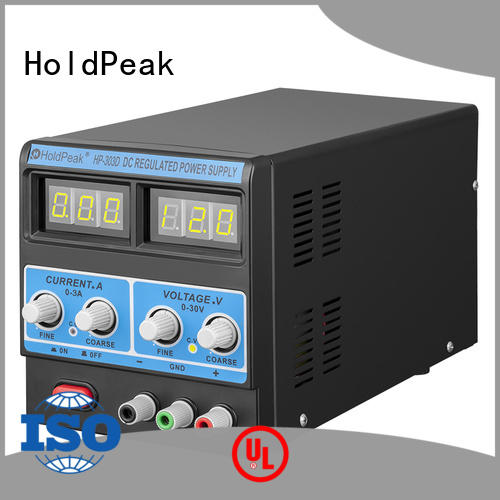 HoldPeak durable hp power supply regulated for communcations for manufacturing