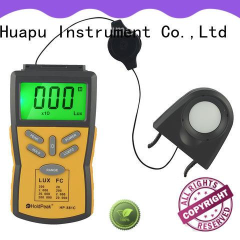 HoldPeak handheld light meter digital manufacturers for electrical