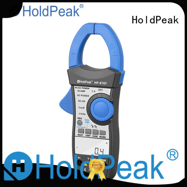 HoldPeak portable amprobe clamp on ammeter factory for electricity chemical industries