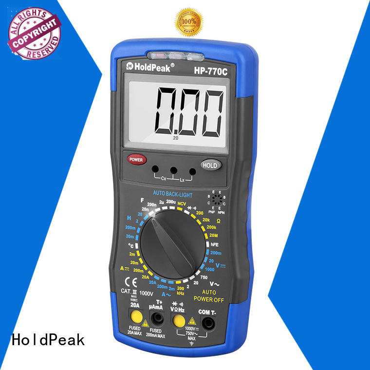 new arrival auto ranging multimeter voltage factory for electrical